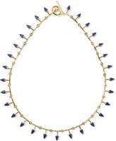 Noir Thun gold-tone resin necklace