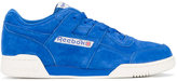 Reebok Blue Suede Workout Plus Vintage Trainers
