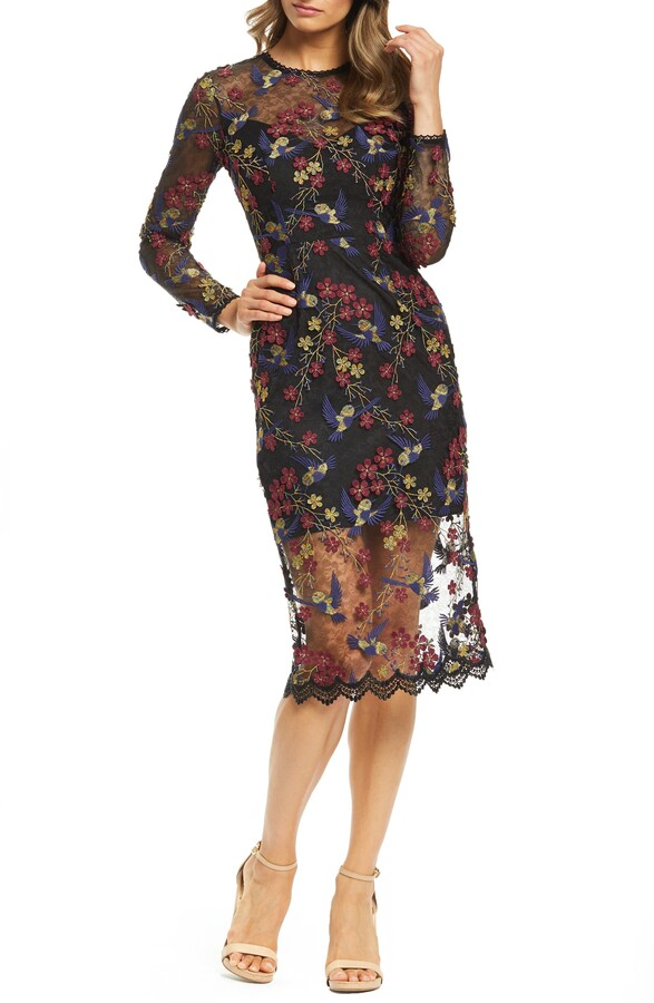 3a8177d0d9da Dress The Population Midi Dress - ShopStyle