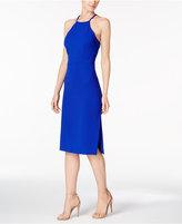 Betsey Johnson Cross-Back Apron Sheath Dress