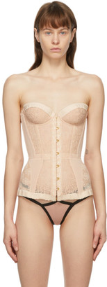 Agent Provocateur Pink Mercy Corset