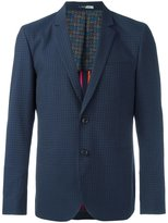 Paul Smith checked blazer - men - Cotton/Viscose/Wool - 46