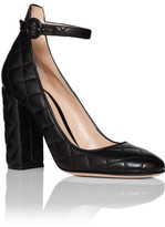 Gianvito Rossi Mary Jane Quilted 105mm Nappa