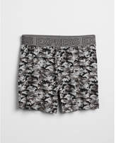 Express camo print performance boxers