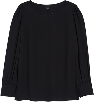 Halogen Long Sleeve Blouse