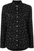 Zoe Karssen stars embroidered shirt