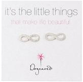 Dogeared Infinity Earrings