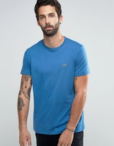 Lacoste T-shirt With Logo In Regular Fit Blue