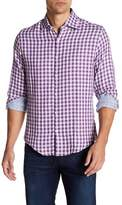 Stone Rose Long Sleeve Plaid Woven Dress Shirt