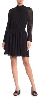 Rebecca Minkoff Zaykee Smocked Ruffled Mini Dress