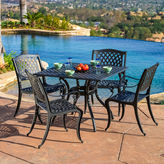 JCPenney Fairview 5-pc. Outdoor Cast Aluminum Dining Set