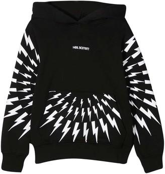 Neil Barrett Black Sweatshirt