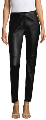 Escada Slim Leather Pants