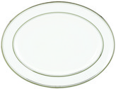 Kate Spade Library Lane Platinum Oval Platter - 13