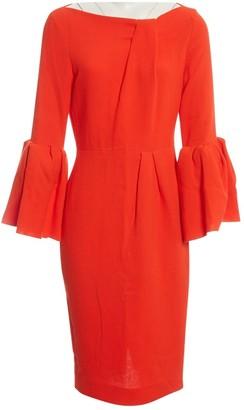 Roksanda Red Wool Dresses