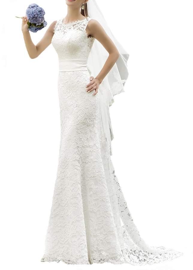 ec822bba89c9 White Ivory Bridal Dress - ShopStyle Canada