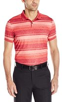 J. Lindeberg Men's Mason Slim-Fit Tx Jersey Golf Polo Shirt, Red Intense
