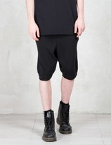 11 By Boris Bidjan Saberi Perforared Knit Shorts