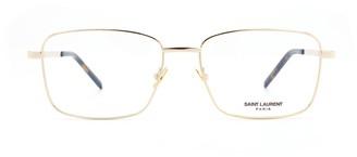 Saint Laurent Eyewear Squared Frames Glasses