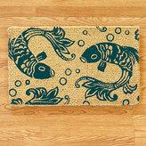 Indigo Koi Doormat