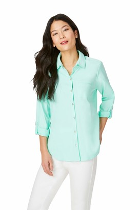 Foxcroft Women's Reese Sun Protection UPF Shirt
