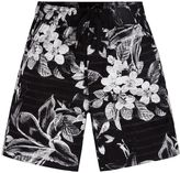 Hurley Toddler Boy Tropical Flower Printed Pull-On Shorts