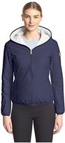 Save the Duck Women's Reversible Jacket with Hood
