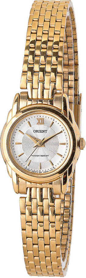 American Apparel Orient Silver/Gold Ladies' Metal Band Watch