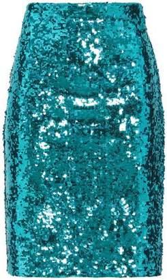 Alice + Olivia Sequined Tulle Skirt