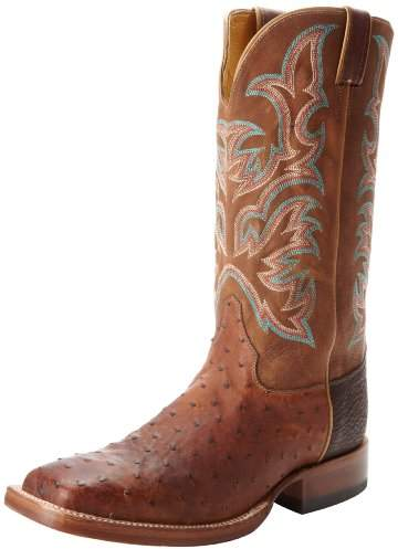 """Justin Boots Men's U.S.A. Aqha Lifestyle Collection 13"""" Remuda Series Boot Wide Square Double Stitch Toe"""