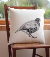 Bird Partridge Screen Print Cushion Cover