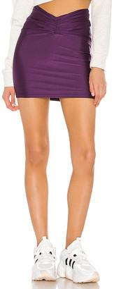 superdown Kira Ruched Mini Skirt