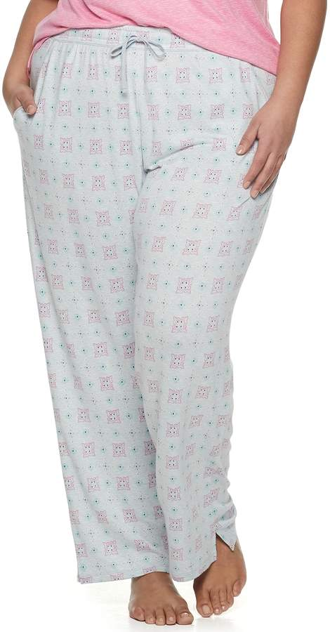 Croft & Barrow Plus Size Whisperluxe Pajama Pants