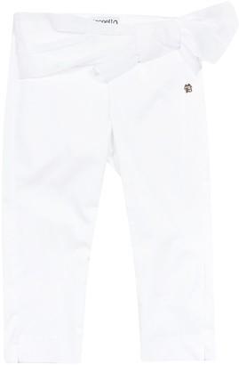 Simonetta Ruffle Trim Jeans