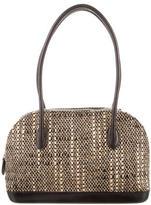 Walter Steiger Leather-Trimmed Bouclé Bag