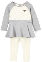 Juicy Couture Gray Tunic & Off-White Leggings - Toddler & Girls