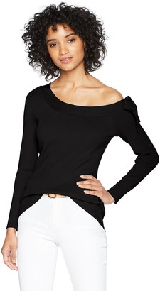 525 America Women's Tie-at-Neck-Sweater