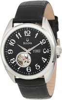 Bulova Men's Mechanical 96A125 Calf Skin Automatic Watch with Dial