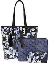 Dena North/South Shopper with Lanyard, Pouch, & Wallet