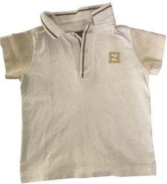 Fendi Beige Cotton Tops
