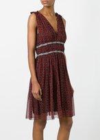 Etoile Isabel Marant Balzan Dress Burgundy