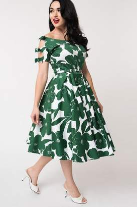 Unique Vintage Selma Swing Dress