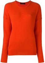 Cédric Charlier longsleeved ribbed pullover
