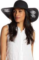 Collection XIIX Garden Floral Embroidered Floppy Hat