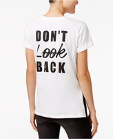 SHIFT Juniors' Don't Look Back Graphic T-Shirt, Only at Macy's