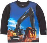 John Deere Black Excavator Long-Sleeve Tee - Toddler & Boys