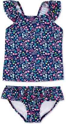 Carter's Carter Little & Big Girls 2-Pc. Print Tankini Swim Suit