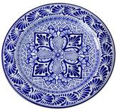 Talavera ceramic plate, 'Empress'
