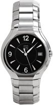 ESQ by Movado SWISS Venture Men's 7300744 Stainless Steel Black Dial Watch