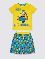 Marks and Spencer Despicable MeTM Minions Short Pyjamas (3-14 Years)